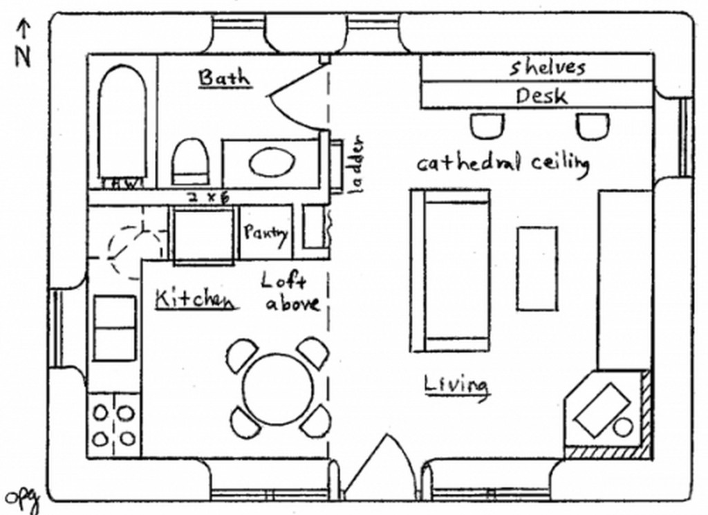 Drawing A House Plan Pdf